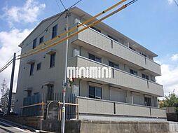 愛知県豊橋市花田町字西郷の賃貸アパートの外観