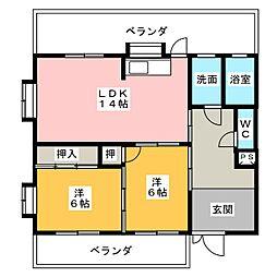 第3平松ビル[3階]の間取り