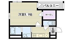 フジパレス鶴見Ⅴ番館[2階]の間取り