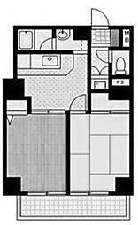 三協谷山ハイツ[4階]の間取り