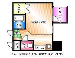 京橋森野ビル--[205号室]の間取り