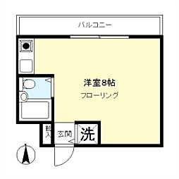 TWIN WOOD SQUARE[3階]の間取り