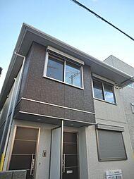 大阪府大阪市東住吉区桑津5丁目の賃貸アパートの外観