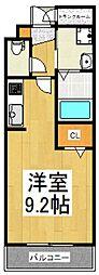 エンピエッサ東大和[4階]の間取り