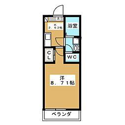 K−6[1階]の間取り