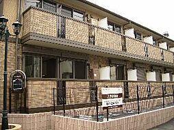 埼玉県川越市中原町1丁目の賃貸アパートの外観
