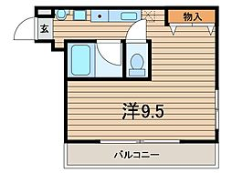 ダ・レッチェン[1階]の間取り