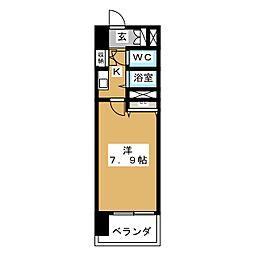 S‐FORT山王[6階]の間取り