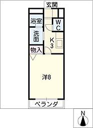 ステージア 1[2階]の間取り