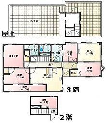 村山ビル[3F号室]の間取り