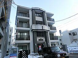 北海道札幌市白石区本郷通10丁目南の賃貸マンションの外観