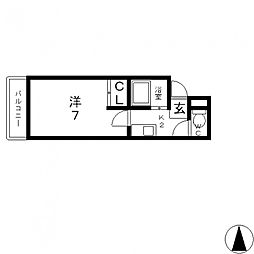 大宝 長田ル・グラン[905号室号室]の間取り