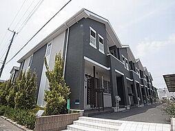 千葉県白井市西白井3の賃貸アパートの外観