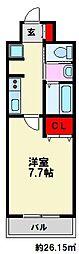 J-PLACE大橋南[9階]の間取り