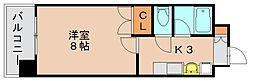 プレアール原田2[4階]の間取り