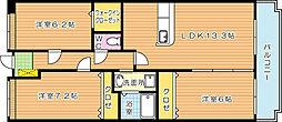 プリンシプル[3階]の間取り