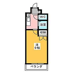コンホール千種[4階]の間取り