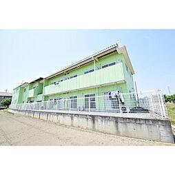 埼玉県川越市上野田町の賃貸アパートの外観
