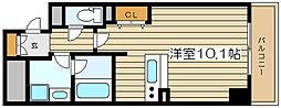 BRAVI南堀江[5階]の間取り