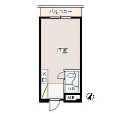 パーク・ノヴァ渋谷[4階]の間取り
