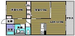 ハイムコンフォート[1階]の間取り