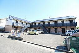 ピースフルA棟B棟[2階]の外観