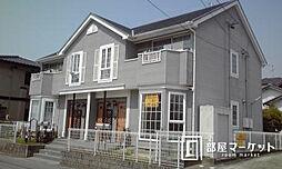 愛知県豊田市朝日町5丁目の賃貸アパートの外観