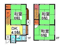 [テラスハウス] 埼玉県川口市芝2丁目 の賃貸【/】の間取り
