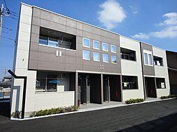 埼玉県熊谷市別府5丁目の賃貸アパートの外観