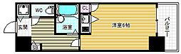 リーガル天神橋[8階]の間取り