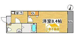 新築 パララックス学研都市駅[106号室号室]の間取り