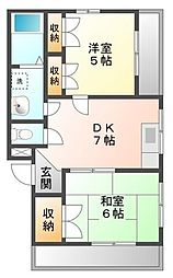 アルテ甲子園[3階]の間取り