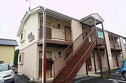 群馬県高崎市菊地町の賃貸アパートの外観