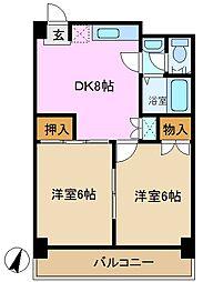 松慶マンション[3階]の間取り