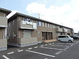 茨城県水戸市千波町の賃貸アパートの外観