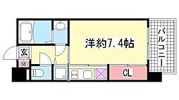 アーデンタワー神戸元町[2階]の間取り