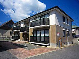 福岡県京都郡苅田町大字南原の賃貸アパートの外観