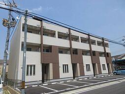 大阪府泉大津市式内町の賃貸アパートの外観