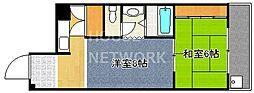 コーポ千代田[202号室号室]の間取り