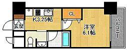 エスリード西宮北口第2[611号室]の間取り