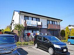 京都府相楽郡精華町光台4丁目の賃貸アパートの外観