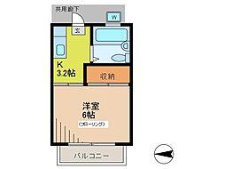 アーベントガーデン[1階]の間取り