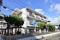 岡山県岡山市北区学南町3丁目の賃貸マンションの外観