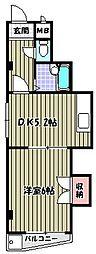 メイプルハウス[503号室]の間取り