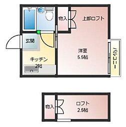 学園前駅 2.1万円