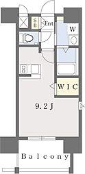 西鉄貝塚線 香椎宮前駅 徒歩7分の賃貸マンション 10階ワンルームの間取り