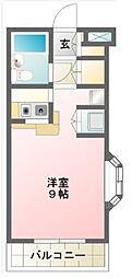 ローズマンションF11番館[210号室]の間取り