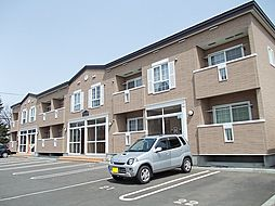 北海道札幌市厚別区厚別東四条7丁目の賃貸アパートの外観