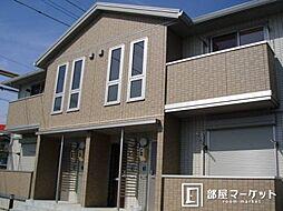 愛知県豊田市小坂町9丁目の賃貸アパートの外観