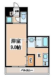 エクレール上小阪[2階]の間取り